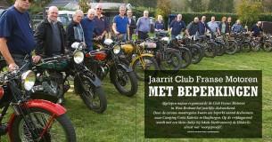 Jaarrit Club Franse Motoren met beperkingen